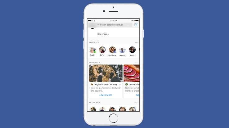 Facebook Messenger empieza a probar anuncios - facebook-messenger-ads