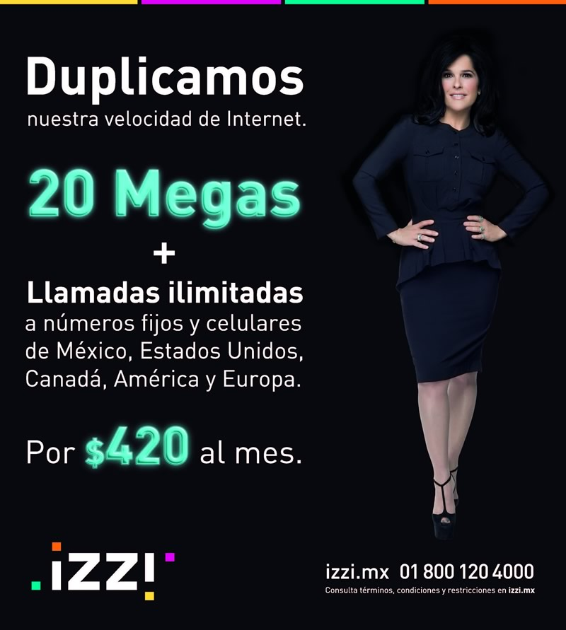 izzi duplica velocidad internet plan izzi duplica la velocidad de su internet