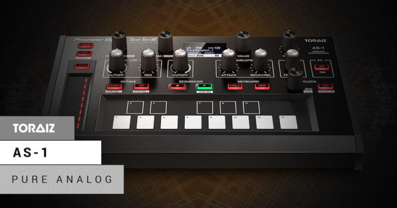 Pioneer DJ lanza nuevo sintetizador monofónico: TORAIZ AS-1 - pdj_as-1_facebook_post-800x420