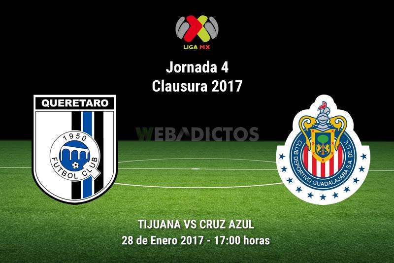 Querétaro vs Chivas, J4 del Clausura 2017 | Resultado: 0-1 - queretaro-vs-chivas-j4-clausura-2017