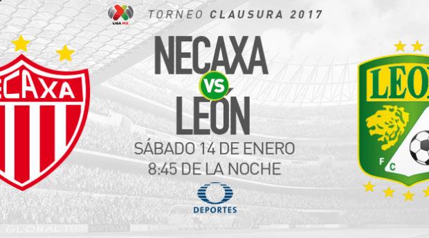Necaxa vs León, Jornada 2 del Clausura 2017 | Resultado: 0-1 - screenshot-deportes-televisa-com-2017-01-14-01-30-44