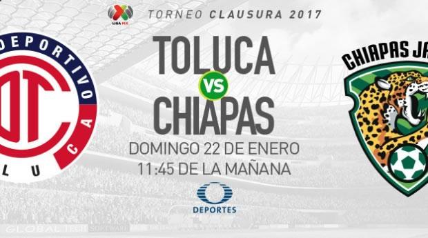 Toluca vs Jaguares, Jornada 3 del Clausura 2017 | Resultado: 0-1 - toluca-vs-jaguares-clausura-2017-en-vivo