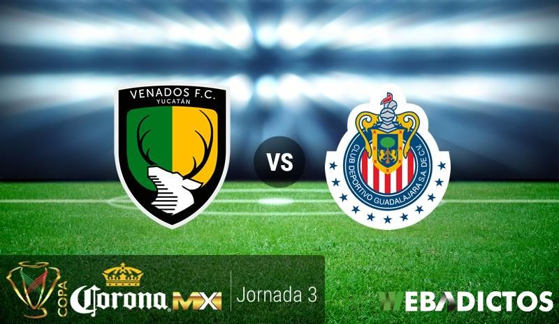 Venados vs Chivas, Copa MX Clausura 2017 | Resultado: 0-1 - venados-vs-chivas-j3-copa-mx-clausura-2017