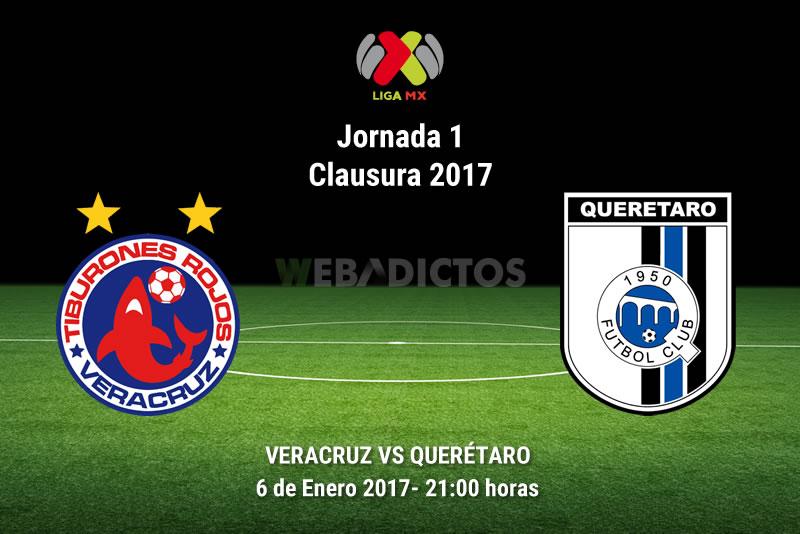 Veracruz vs Querétaro, Jornada 1 del Clausura 2017 | Resultado: 1-0 - veracruz-vs-queretaro-clausura-2017