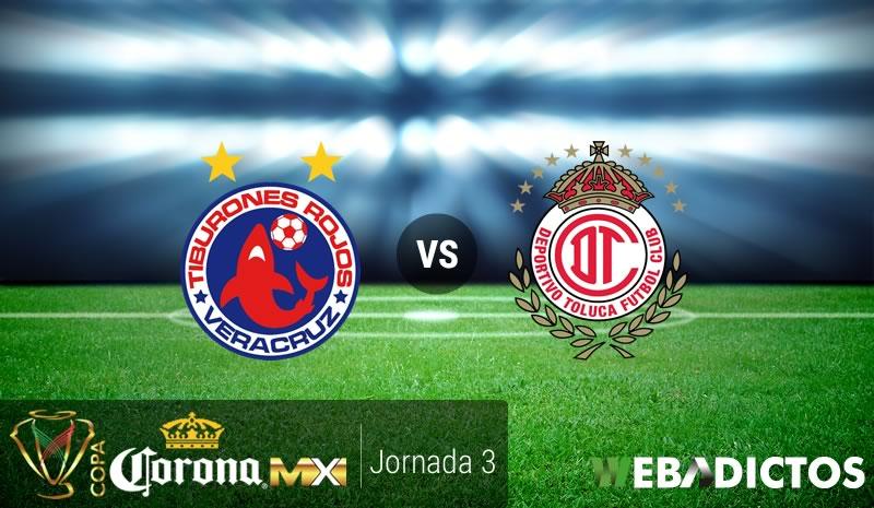 Veracruz vs Toluca, Jornada 3 Copa MX C2017 | Resultado: 0-1 - veracruz-vs-toluca-copa-mx-clausura-2017