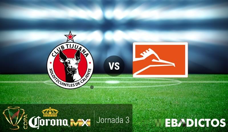 Tijuana vs Correcaminos, Copa MX Clausura 2017 | Resultado: 2-1 - xolos-tijuana-vs-correcaminos-uat-copa-mx-clausura-2017