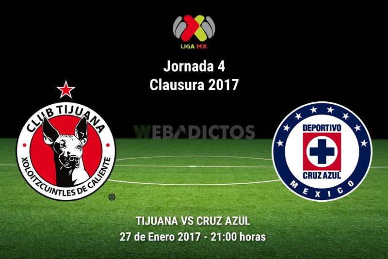 Tijuana vs Cruz Azul, Jornada 4 del Clausura 2017 | Resultado: 1-0 - xolos-tijuana-vs-cruz-azul-j4-clausura-2017