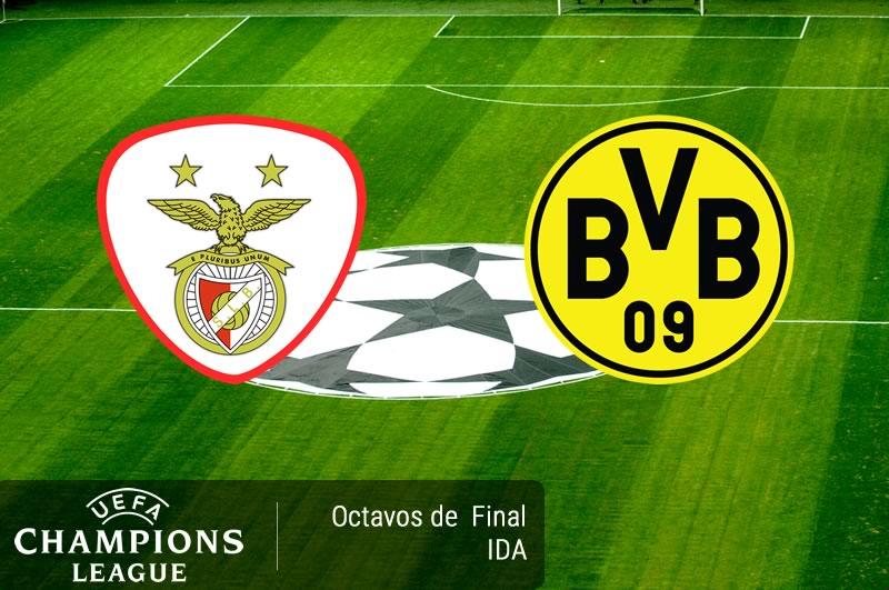 Benfica vs Borussia Dortmund, Champions 2017   Resultado: 1-0 - benfica-vs-borussia-dortmund-octavos-champions-2017