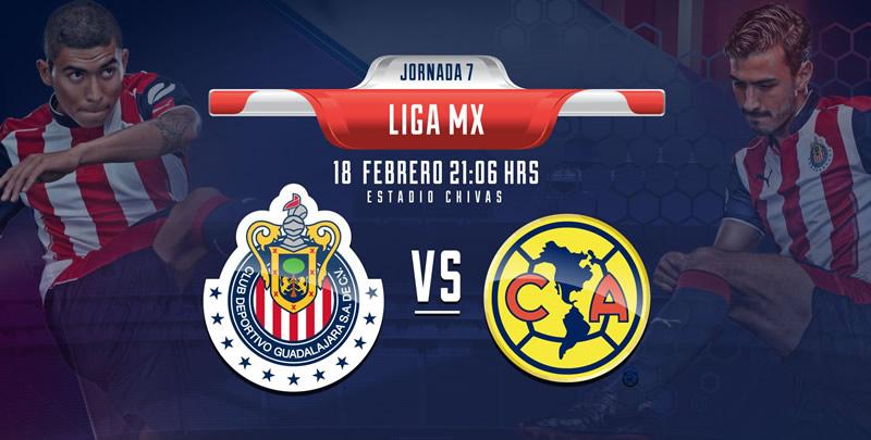 chivas vs america chivas tv j7 clausura 2017 Horario Chivas vs América y por dónde verlo; Jornada 7 del Clausura 2017
