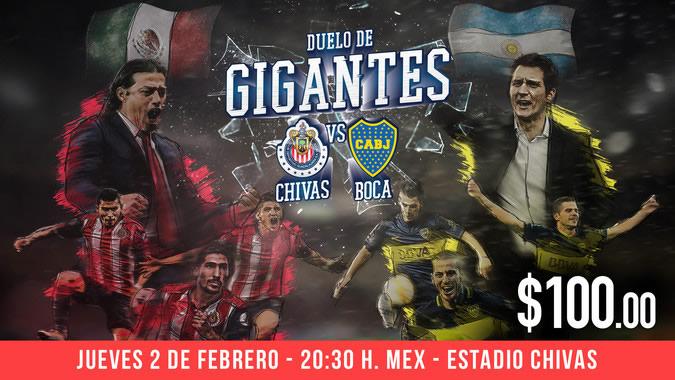 Chivas vs Boca Juniors, Duelo de Gigantes   Resultado: 1(5)-(3)1 - chivas-vs-boca-claro-video