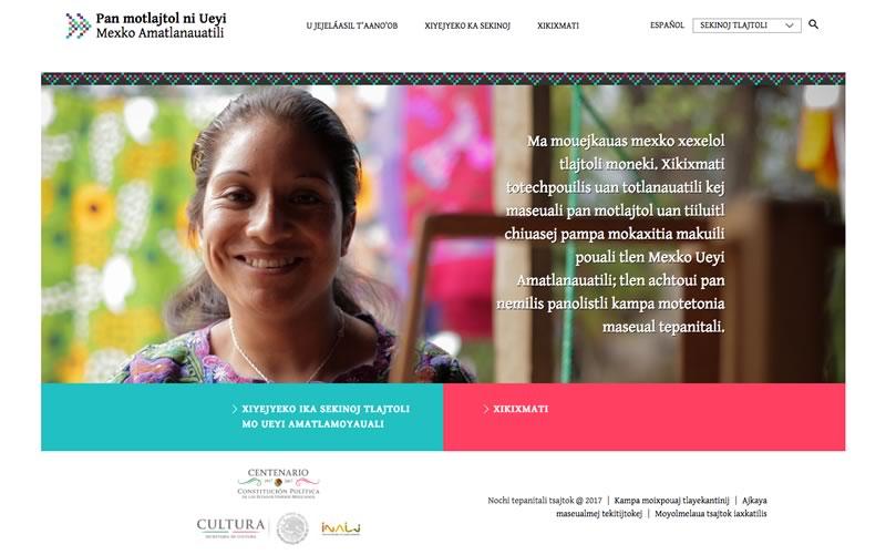 Lanzan plataforma para conocer la Constitución mexicana en lenguas indígenas - constitucion-mexicana-en-lenguas-indigenas