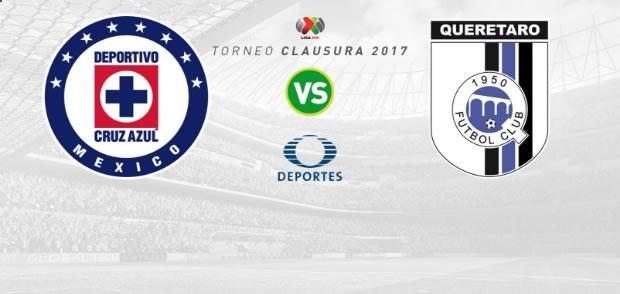 Cruz Azul vs Querétaro, Jornada 5 del Clausura 2017 | Resultado: 1-1 - cruz-azul-vs-queretaro-j5-clausura-2017-en-vivo