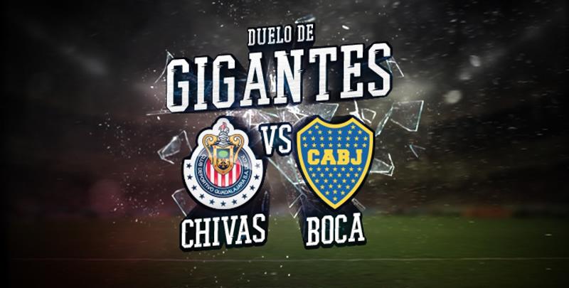 Horario Chivas vs Boca Juniors y por dónde ver el partido amistoso - horario-chivas-vs-boca-juniors-amistoso-2017