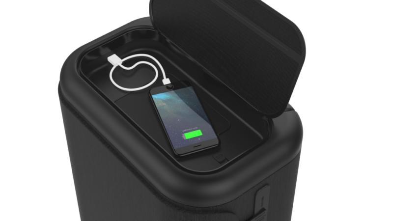 Incase lanza nueva colección de equipaje inteligente Connected 4-Wheel Luggage - incase-connected-travel-roller-with-portable-usb-c-power-station-800x450