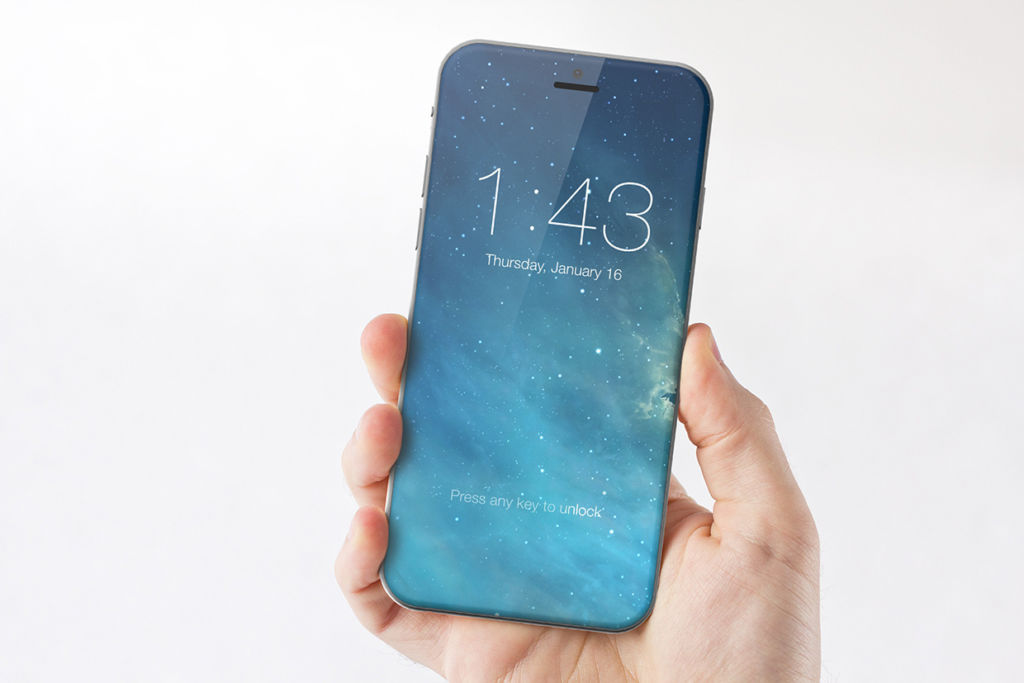 iphone 8 concept all screen iPhone 8 poseerá un botón de inicio virtual