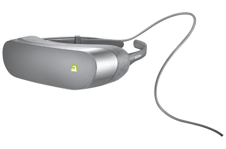 LG presentaría un casco de Realidad Virtual basado en SteamVR - lg-360-vr