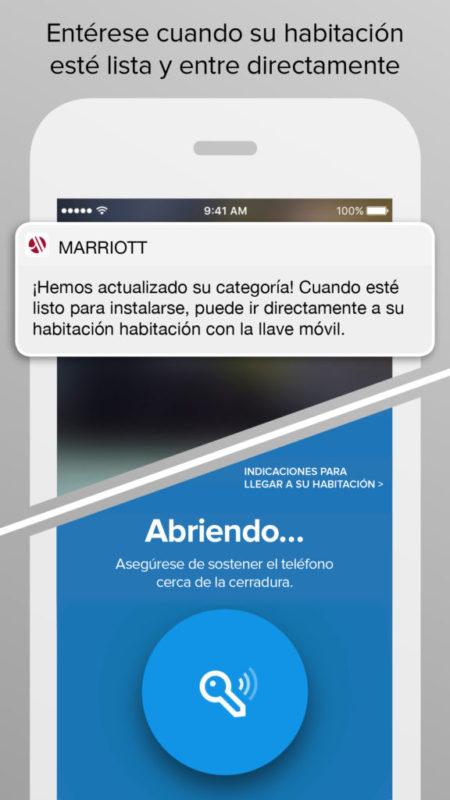 Marriott rediseña su aplicación Marriott Mobile para el viajero moderno - marriott-mobile-ipad-450x800