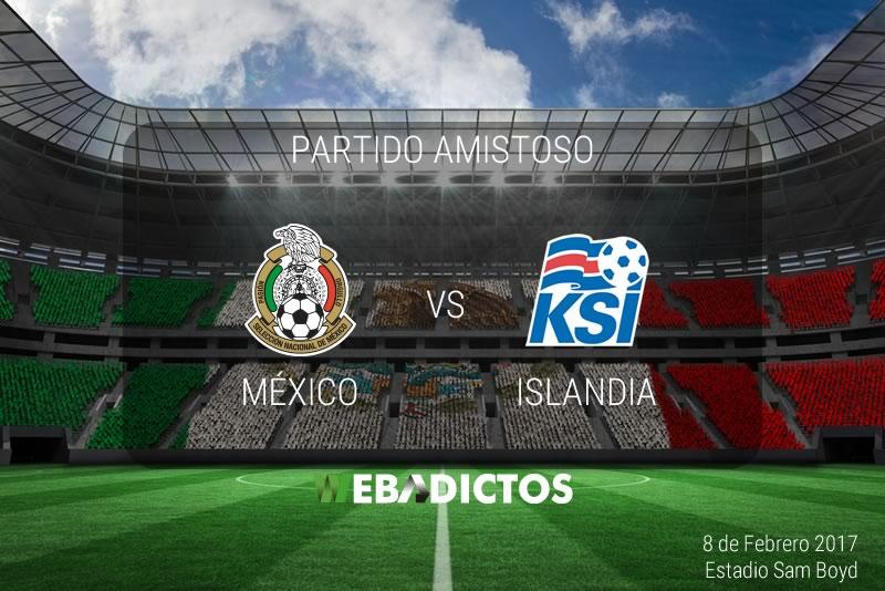 México vs Islandia, partido amistoso 2017   Resultado: 1-0 - mexico-vs-islandia-amistoso-2017