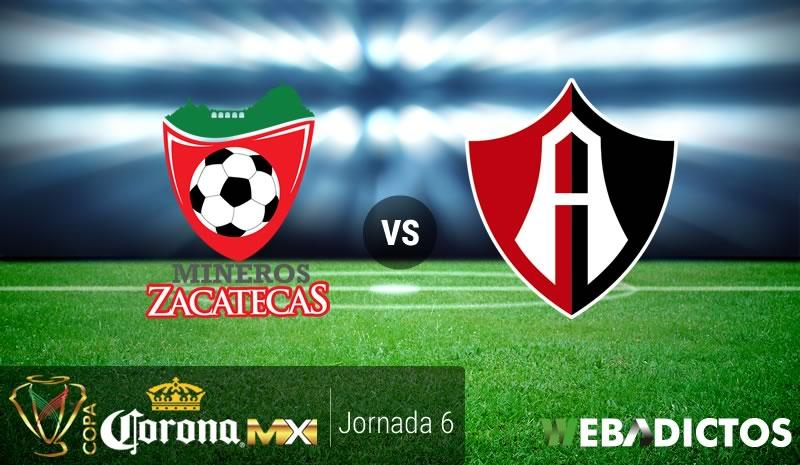 Mineros vs Atlas, Jornada 6 Copa MX C2017 | Resultado: 3-0 - mineros-vs-atlas-j6-copa-mx-clausura-2017