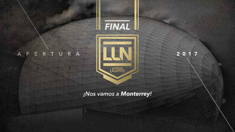Monterrey: Anfitrión de la Gran Final del Torneo de Apertura de la LLN - monterrey-anfitrion-de-la-gran-final-del-torneo-de-apertura-de-la-lln-de-league-of-legends-800x450