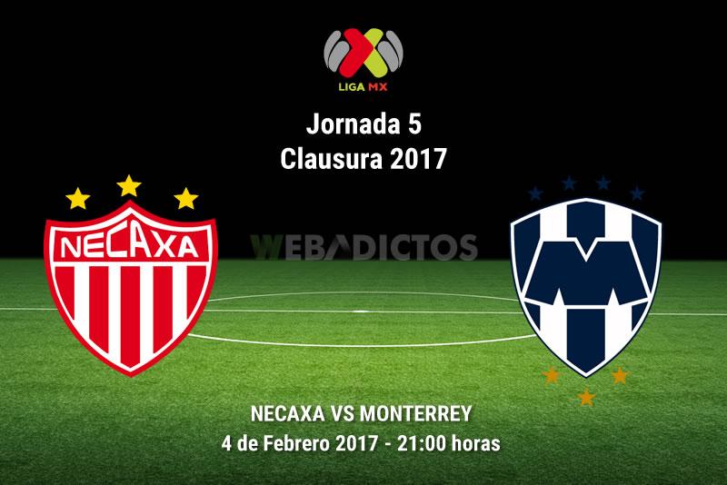 Necaxa vs Monterrey, J5 del Clausura 2017   Resultado: 1-1 - necaxa-vs-monterrey-j5-clausura-2017