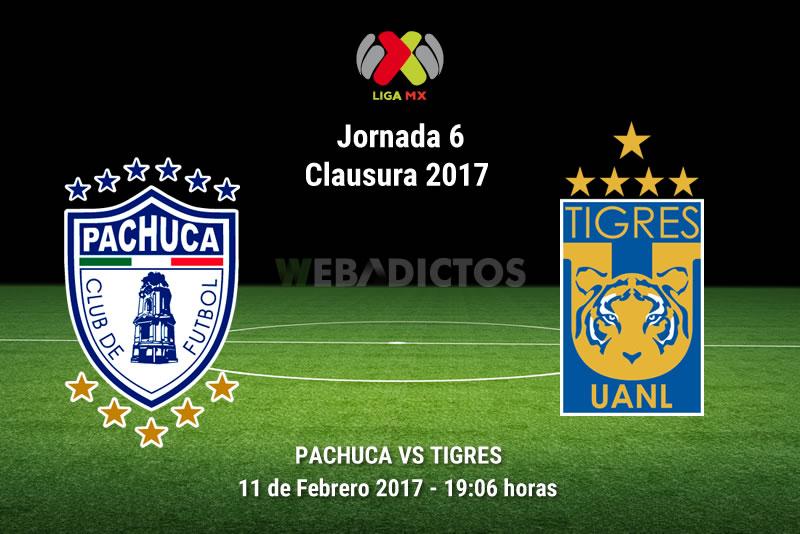 Pachuca vs Tigres, J6 del Clausura 2017 | Resultado: 1-0 - pachuca-vs-tigres-j6-del-clausura-2017