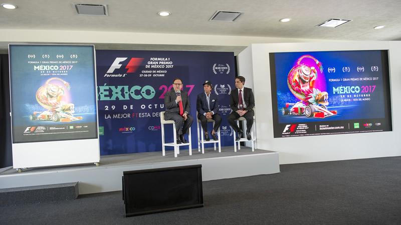 precios formula 1 gran premio de mexico 2017 Se mantendrán los precios para el Formula 1 Gran Premio de México 2017