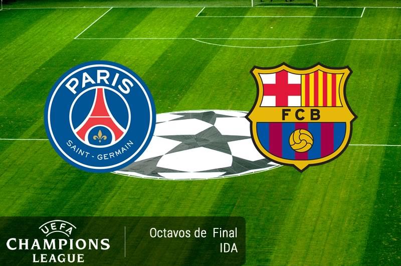 PSG vs Barcelona, Octavos de final Champions 2017 | Resultado: 4-0 - psg-vs-barcelona-octavos-champions-2017