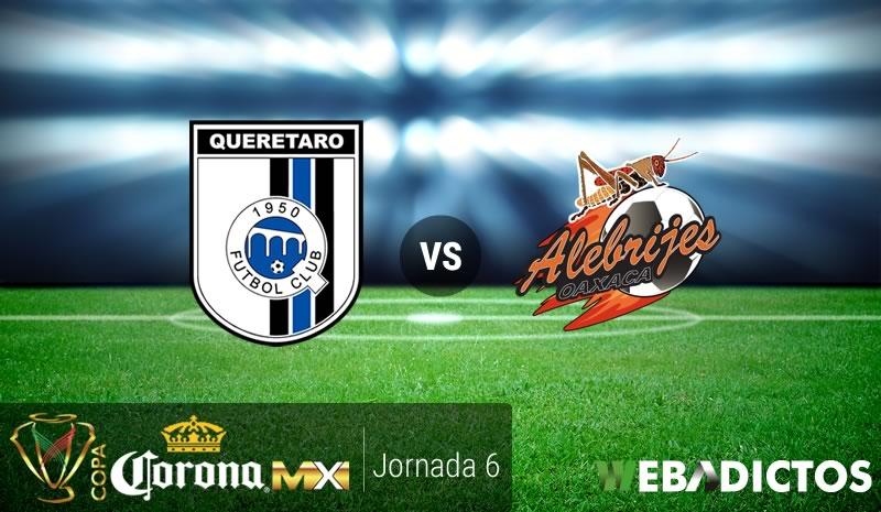 Querétaro vs Alebrijes, J6 Copa MX C2017   Resultado: 3-0 - queretaro-vs-alebrijes-j6-copa-mx-clausura-2017