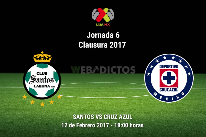 Santos vs Cruz Azul, Jornada 6 C2017 | Resultado: 2-2 - santos-vs-cruz-azul-j6-del-clausura-2017