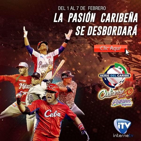 México vs República Dominicana, Serie del Caribe 2017   Resultado: 7-2 - serie-del-caribe-2017-internetv