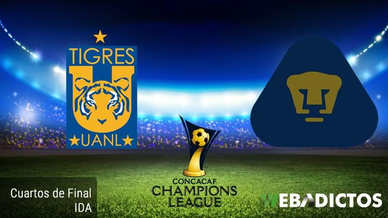 Tigres vs Pumas, Concachampions 2017   Cuartos de Final - tigres-vs-pumas-concachampions-2017