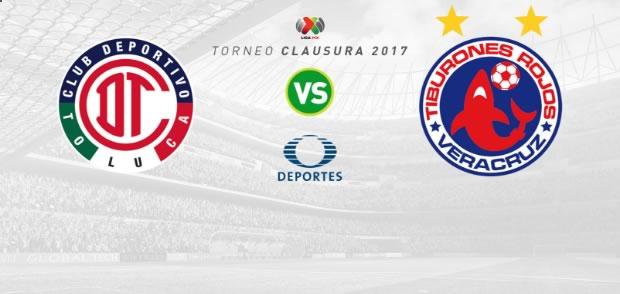 Toluca vs Veracruz, Jornada 6 del Clausura 2017 | Resultado: 1-0 - toluca-vs-veracruz-clausura-2017-en-vivo