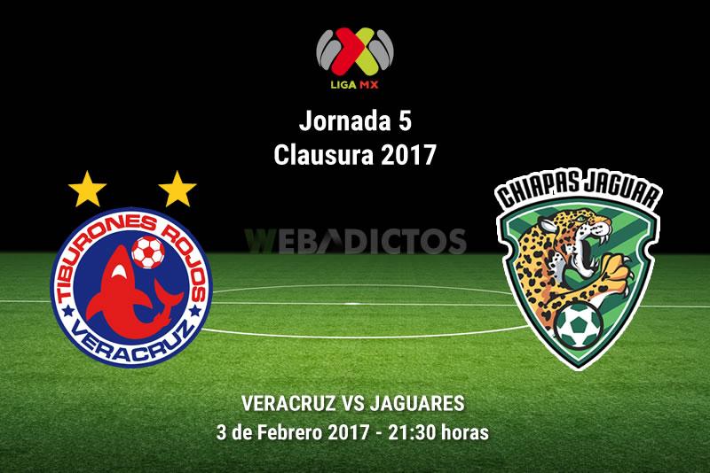 Veracruz vs Jaguares, J5 del Clausura 2017 | Resultado: 2-0 - veracruz-vs-jaguares-de-chiapas-j5-clausura-2017