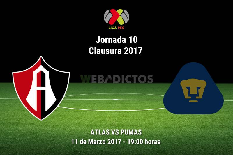 Atlas vs Pumas, Jornada 10 del Clausura 2017 | Suspendido - atlas-vs-pumas-j10-clausura-2017