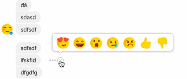 Facebook está probando las reacciones en Messenger - facebook-messenger-reactions