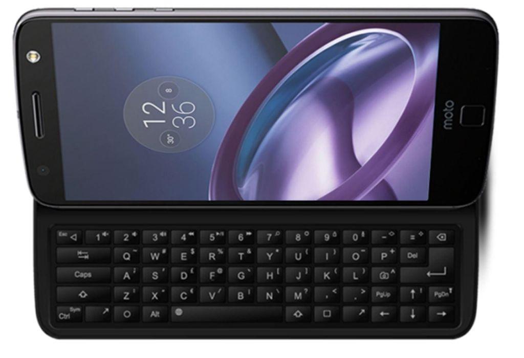 El Mod que añade teclado físico a los Moto Z ya se encuentra en Indiegogo - keyboard-mod-moto-z