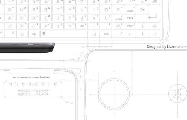 El Mod que añade teclado físico a los Moto Z ya se encuentra en Indiegogo - keyboard-moto-z-design