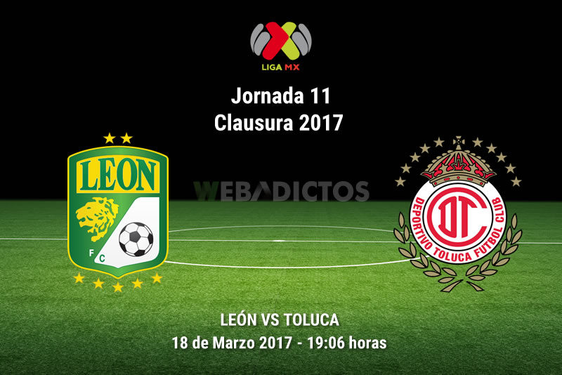 León vs Toluca, Jornada 11 del Clausura 2017 | Resultado: 2-3 - leon-vs-toluca-j11-clausura-2017