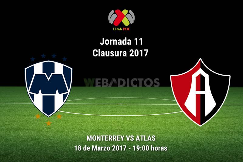 Monterrey vs Atlas, J11 del Clausura 2017   Resultado: 2-0 - monterrey-vs-atlas-j11-clausura-2017