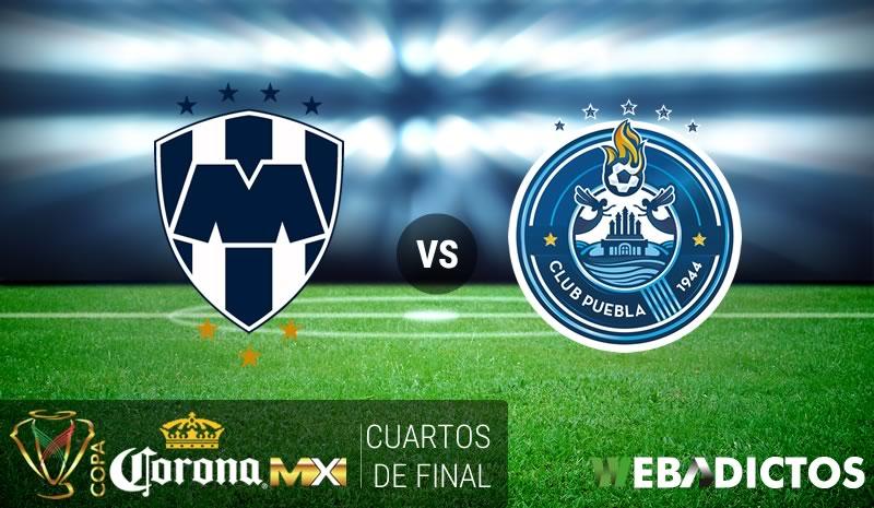Monterrey vs Puebla, Copa MX Clausura 2017   Resultado: 3-2 - monterrey-vs-puebla-cuartos-copa-mx-clausura-2017