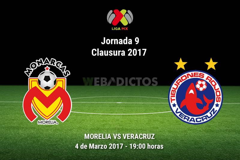 Morelia vs Veracruz, Jornada 9 Clausura 2017   Resultado: 1-0 - morelia-vs-veracruz-j9-clausura-2017