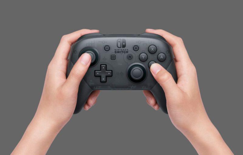 El Pro Controller de la Nintendo Switch tiene un mensaje oculto - nintendo-switch-pro-controller