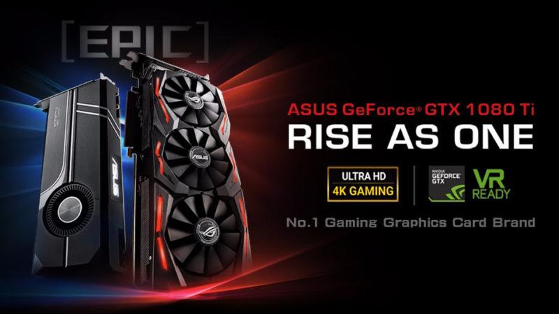 ASUS Anuncia las tarjetas gráficas ROG Strix y Turbo GeForce GTX 1080 Ti - rog-strix-geforce-asus-gtx-1080-ti-y-turbo-geforce-gtx-1080-ti-800x450
