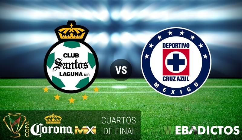 Santos vs Cruz Azul, Cuartos de Final Copa MX C2017   Resultado: 1-3 - santos-vs-cruz-azul-cuartos-copa-mx-clausura-2017