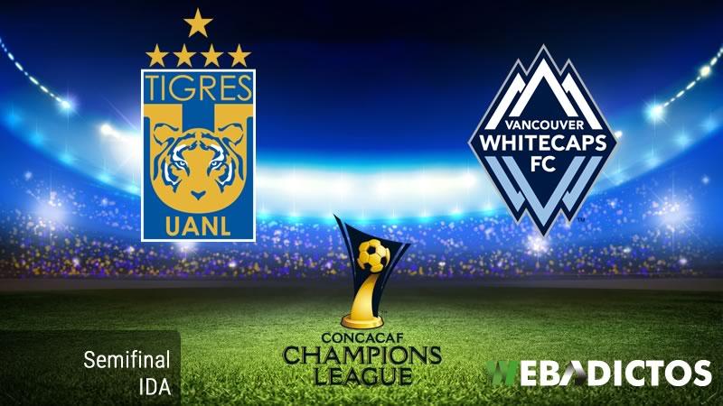 Tigres vs Vancouver, Semifinal Concachampions 2017 | Resultado: 2-0 - tigres-vs-vancouver-whitecaps-semifinal-concachampions-2017