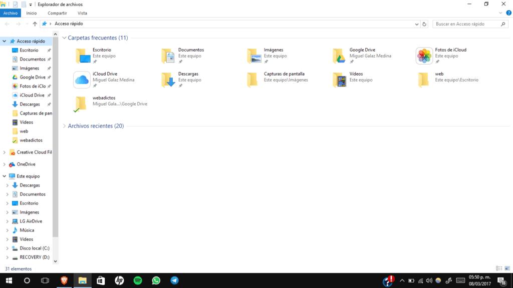 Microsoft cree que es buena idea mostrar anuncios en el Explorador de archivos de Windows 10 - windows-10-file-explorer