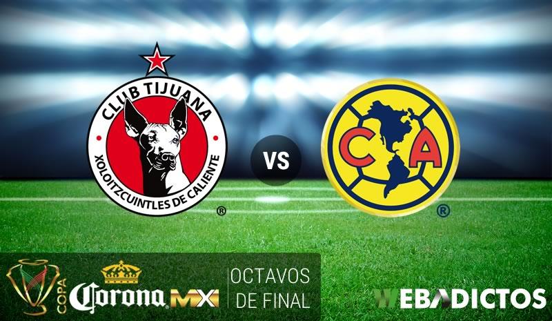 Tijuana vs América, Copa MX Clausura 2017   Resultado: 1-0 - xolos-tijuana-vs-america-octavos-copa-mx-clausura-2017
