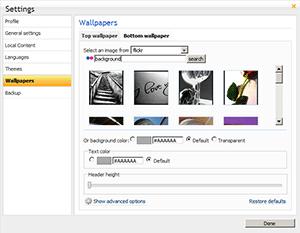 Netvibes permite la creación de nuestros propios temas - wp-top-flickr