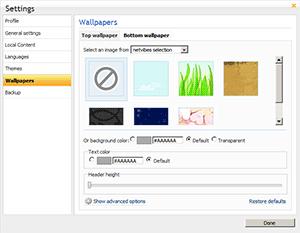 Netvibes permite la creación de nuestros propios temas - wp-top-nv